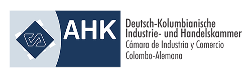 Logo de la Cámara de Industria y Comercio Colombo-Alemana, uno de los aliados de la Academia Alemana Deutsch en Bogotá