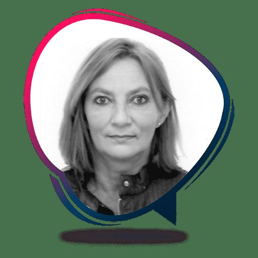 La profesora Ingrid Gutermilch de la Academia Alemana Deutsch en Bogotá