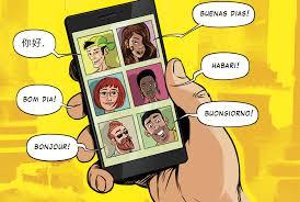 Imagen Aplicación móvil para aprender idiomas